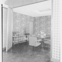 Prisant Properties, Pilot House, King's Point Rd. and Tredway Rd., Great Neck, Long Island. Dining room