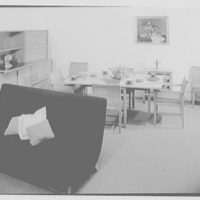 Statton Modern, John Wanamaker's, business in Great Neck. Russel Wright dining room