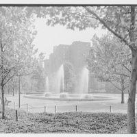Stuyvesant Town, 14th St., New York City. Fountain I