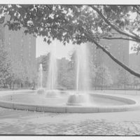 Stuyvesant Town, 14th St., New York City. Fountain II