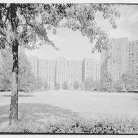 Stuyvesant Town, 14th St., New York City. Long view I