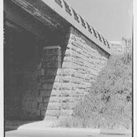 Van Wyck Express Highway, Queens, New York. Detail of Linden Blvd. bridge