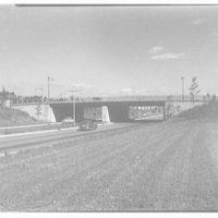 Van Wyck Express Highway, Queens, New York. Foch Blvd. bridge
