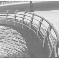 Van Wyck Express Highway, Queens, New York. Rail detail