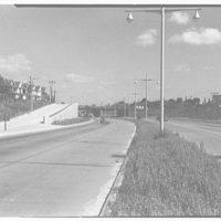 Van Wyck Express Highway, Queens, New York. Rockaway Blvd. bridge and approach II