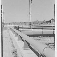 Van Wyck Express Highway, Queens, New York. Rockaway Blvd. bridge detail