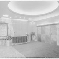 Beekman Theatre, 2nd Ave. and 66th St., New York City. Ticket counter in vestibule