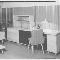 Berge-Norman Associates, business at 45 E. 28th St., New York City. Setup III