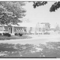 Brooklyn Convalescent Home, Beach and 9th St., Far Rockaway, New York. Entrance facade, nursing home