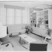 Brooklyn Convalescent Home, Beach and 9th St., Far Rockaway, New York. Lobby in nursing home