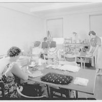 Brooklyn Convalescent Home, Beach and 9th St., Far Rockaway, New York. Therapy room