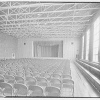 Chase School, Waterbury, Connecticut. Auditorium