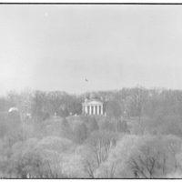 Custis-Lee Mansion. View of Custis-Lee Mansion from Lincoln Memorial