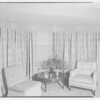DeBrown and Zellers, 44 E. 80th St., New York City. Living room window II
