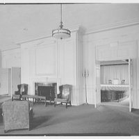 Deerfield Academy. Memorial Hall, living room II