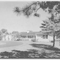 E.H. Wobbers, residence in Westhampton Beach, New York. Entrance facade II