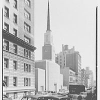 Eighth Church of Christ, Scientist, 103 E. 77th St., New York City. Exterior from Park Avenue