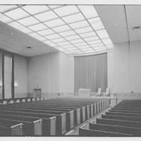 Eighth Church of Christ Scientist, E. 77th St., New York City. Auditorium