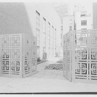 Eighth Church of Christ Scientist, E. 77th St., New York City. Garden