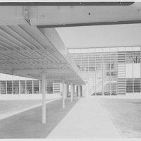 Fairchild Aircraft Corporation, Bayshore, Long Island, New York. To main entrance IV