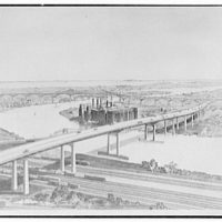 Fellheimer & Wagner, 155 E. 42nd St., New York City. Copy negative Lorimer, rendering of Turnpike bridge