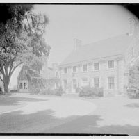 Francis E. Powell, residence in Glen Cove, Long Island. Entrance facade II