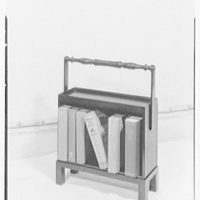 George G. Frelinghuysen, business at 411 Park Ave., New York City. Book rack I