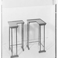 George G. Frelinghuysen, business at 411 Park Ave., New York City. Cut corner tables I