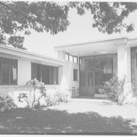 George Parkman Denny, residence on Bacon Rd., Old Westbury, Long Island. Exterior detail I