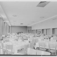 Goucher College, Towson, Maryland. Froelicher, dining room