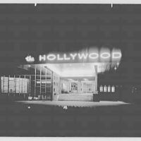 Hollywood Hotel, West Long Branch, New Jersey. Exterior, night view II
