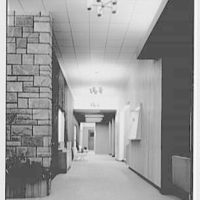 Hollywood Hotel, West Long Branch, New Jersey. Hallway