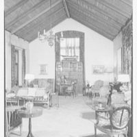 H.T. Lindeberg, residence in Locust Valley, Long Island. Living room