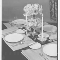 Jamian Advertising Co. Tweed, table set-up