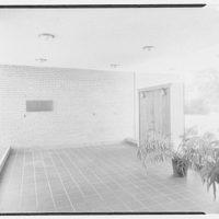 Laboratory of Nuclear Studies, Cornell University, Ithaca, New York. Entrance lobby