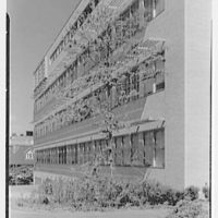 Laboratory of Nuclear Studies, Cornell University, Ithaca, New York. Exterior III