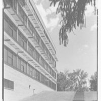 Laboratory of Nuclear Studies, Cornell University, Ithaca, New York. Exterior IX