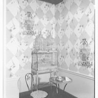 Louis W. Bowen, Inc., business at 509 Madison Ave., New York City. Bird cage cubicle