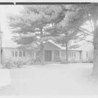Lyman A. Beeman, residence on North Rd., Glens Falls, New York. East facade II