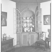 Marlpit Hall, Middletown, New Jersey. Cupboard