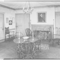 Marlpit Hall, Middletown, New Jersey. Dining room