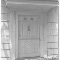 Marlpit Hall, Middletown, New Jersey. Entrance door