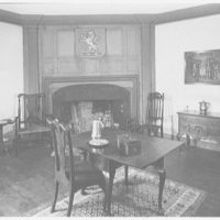 Marlpit Hall, Middletown, New Jersey. General view in living room