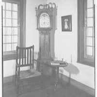 Marlpit Hall, Middletown, New Jersey. View to clock