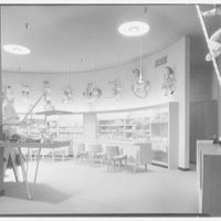 Martin's, business in Garden City, Long Island. Infant's department