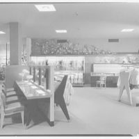 Martin's, business in Garden City, Long Island. Millinery tables, to bras