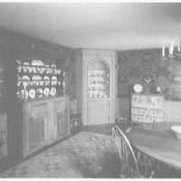 Michael Taradash, residence in Ardsley-on-Hudson, New York. Pennsylvania Dutch room to cabinets
