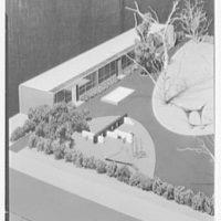 Model of Cherry Lane School, Carle Pl., Long Island. IV