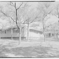Mr. and Mrs. Jack Breard, residence at 4650 Meadowood Rd., Dallas, Texas. General exterior