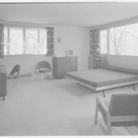 Mr. and Mrs. Jack Breard, residence at 4650 Meadowood Rd., Dallas, Texas. Master bedroom